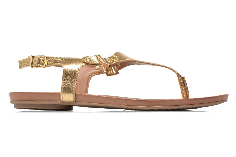 Sandales et nu-pieds Aldo ASHLEY Or et bronze vue derrière