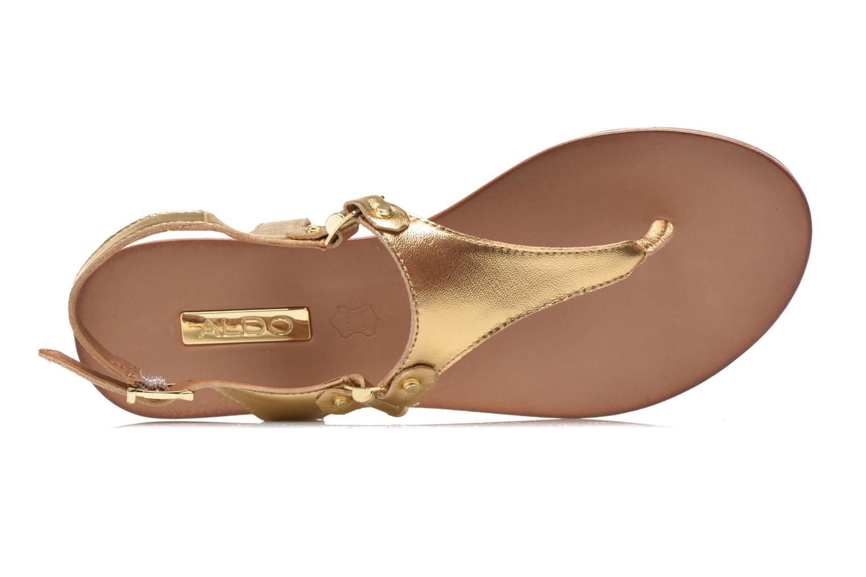Sandales et nu-pieds Aldo ASHLEY Or et bronze vue gauche