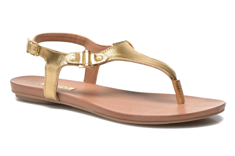 Sandales et nu-pieds Aldo ASHLEY Or et bronze vue détail/paire
