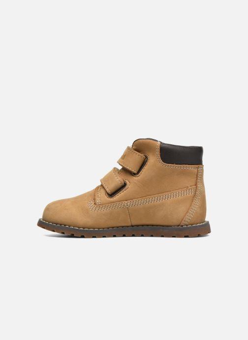 Boots en enkellaarsjes Timberland Pokey Pine H&L Beige voorkant