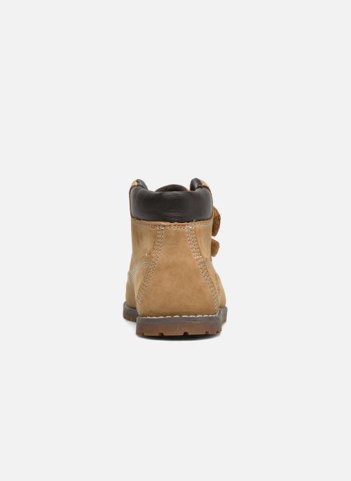 Boots en enkellaarsjes Timberland Pokey Pine H&L Beige rechts