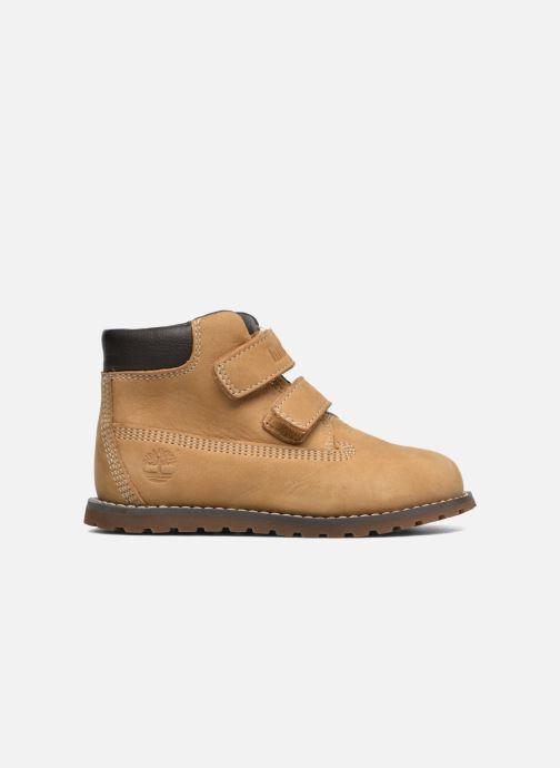 Boots en enkellaarsjes Timberland Pokey Pine H&L Beige achterkant