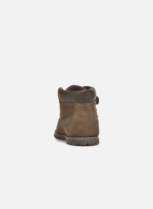 Ankle boots Timberland Pokey Pine H&L Brown view from the right