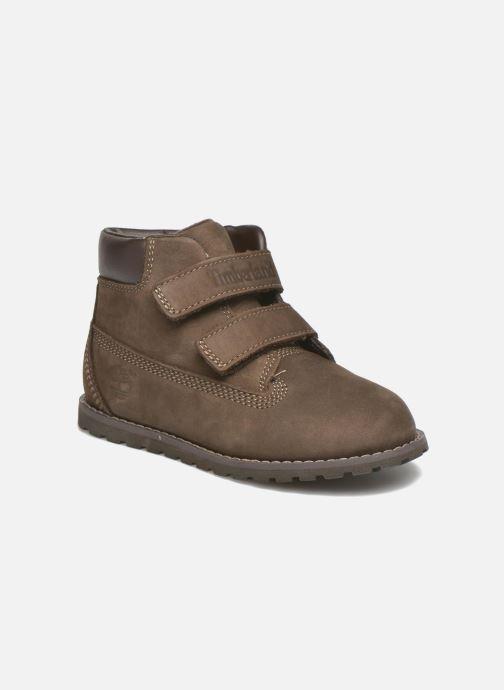 Bottines et boots Timberland Pokey Pine H&L Marron vue détail/paire