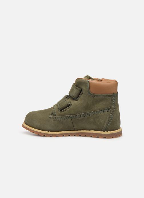 Boots en enkellaarsjes Timberland Pokey Pine H&L Groen voorkant