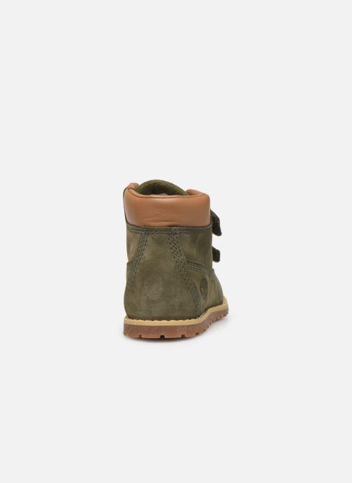 Bottines et boots Timberland Pokey Pine H&L Vert vue droite