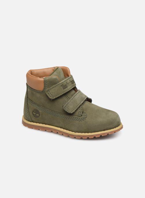 Bottines et boots Timberland Pokey Pine H&L Vert vue détail/paire