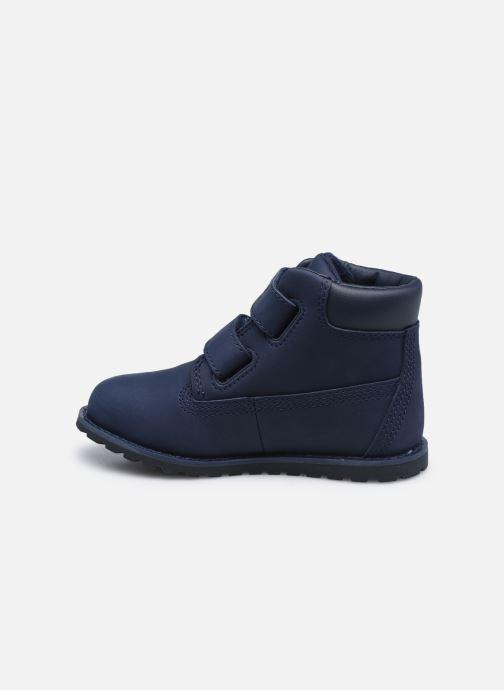 Bottines et boots Timberland Pokey Pine H&L Bleu vue face