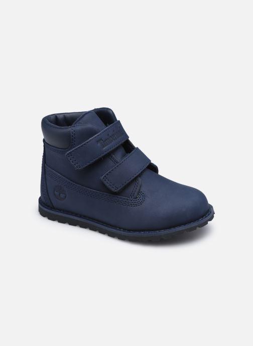 Bottines et boots Timberland Pokey Pine H&L Bleu vue détail/paire