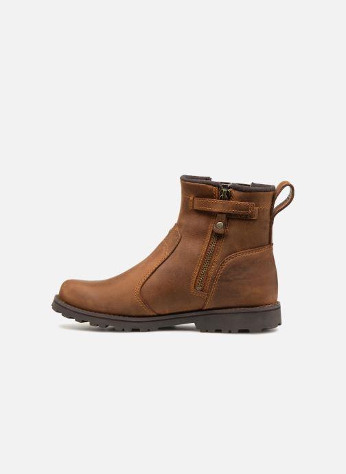 Bottines et boots Timberland Asphalt Trail Chelsea K Marron vue face