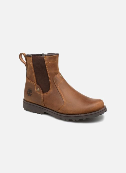 Ankle boots Timberland Asphalt Trail Chelsea K Brown detailed view/ Pair view