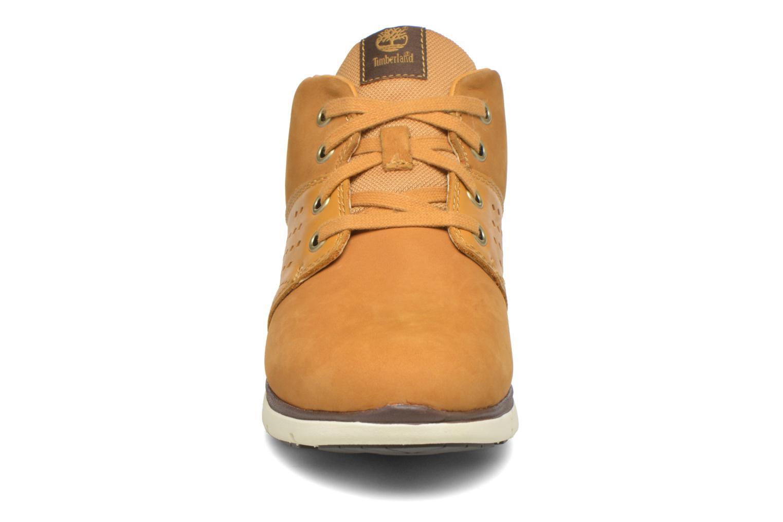 Chaussures à lacets Timberland Killington Chukka Beige vue portées chaussures
