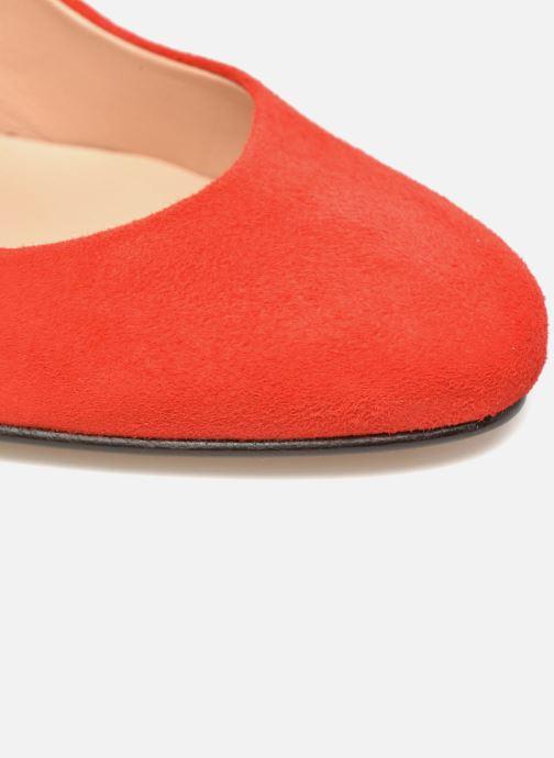 Escarpins Made by SARENZA Mexicoco #18 Rouge vue gauche