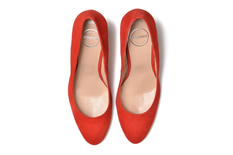 Escarpins Made by SARENZA Mexicoco #18 Rouge vue portées chaussures