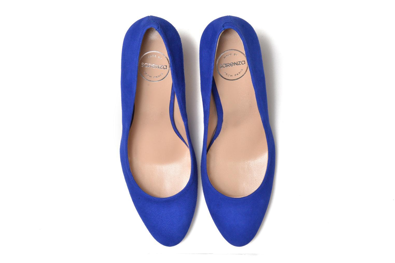 Décolleté Made by SARENZA Mexicoco #18 Azzurro modello indossato