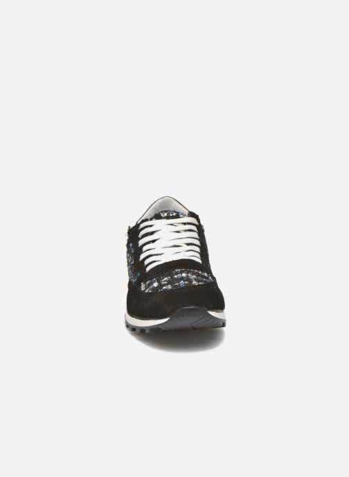 Baskets Georgia Rose Skipo Noir vue portées chaussures
