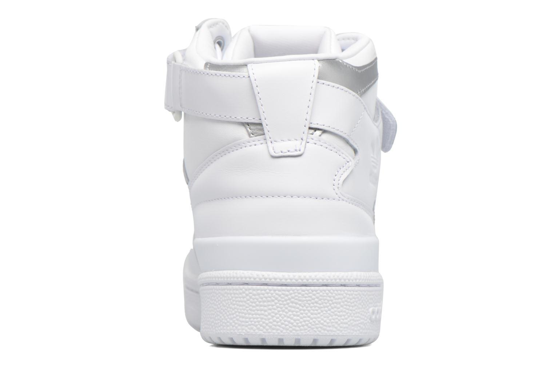 Sneakers Adidas Originals Forum Mid Refined Hvid Se fra højre