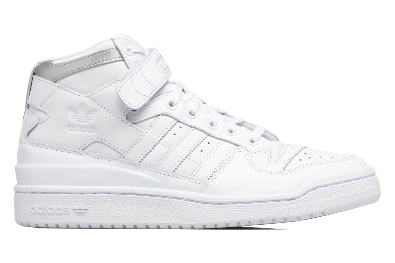 Sneakers Adidas Originals Forum Mid Refined Hvid se bagfra