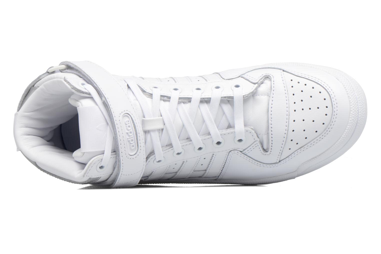 Sneakers Adidas Originals Forum Mid Refined Hvid se fra venstre