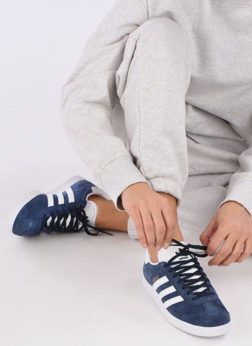 Deportivas adidas originals Gazelle W Azul vista de abajo