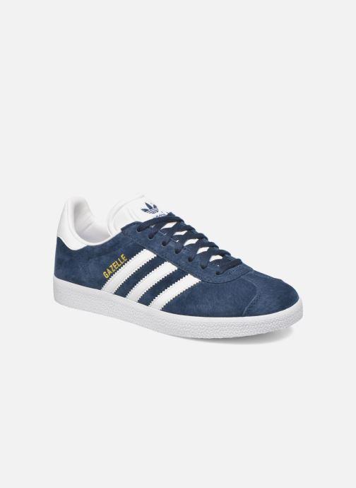 Deportivas adidas originals Gazelle W Azul vista de detalle / par