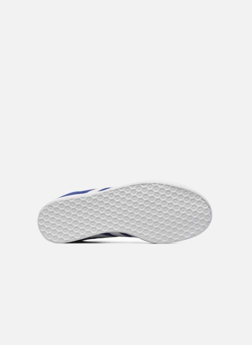 Baskets adidas originals Gazelle W Bleu vue haut