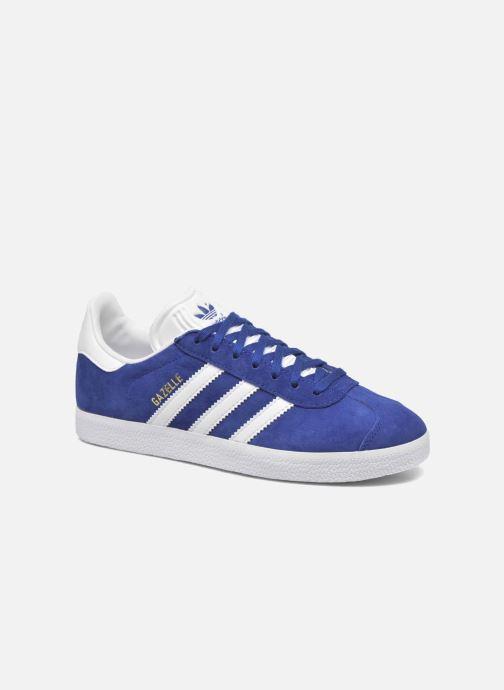 d7d52d452a1 Sneakers adidas originals Gazelle W Blå detaljeret billede af skoene