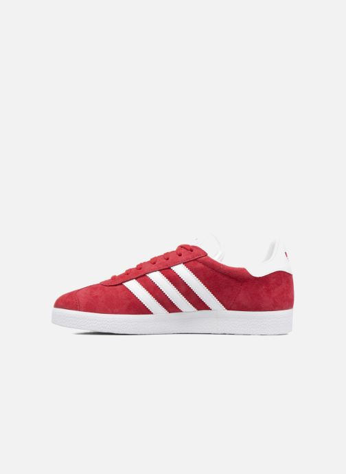 Baskets adidas originals Gazelle W Rouge vue face
