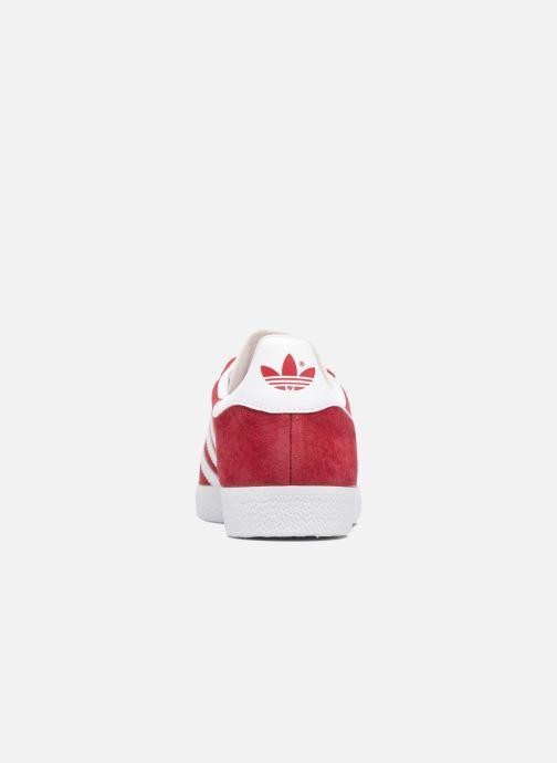Baskets adidas originals Gazelle W Rouge vue droite