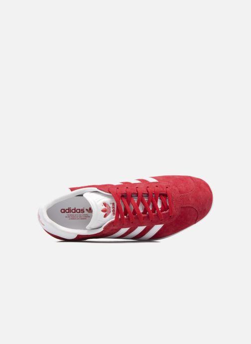 Baskets adidas originals Gazelle W Rouge vue gauche