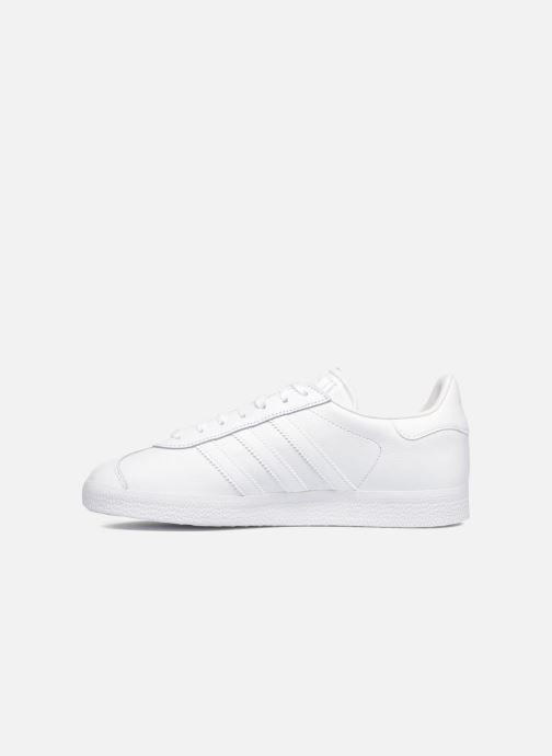 Sneaker adidas originals Gazelle W weiß ansicht von vorne