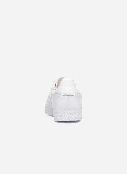 Sneaker adidas originals Gazelle W weiß ansicht von rechts