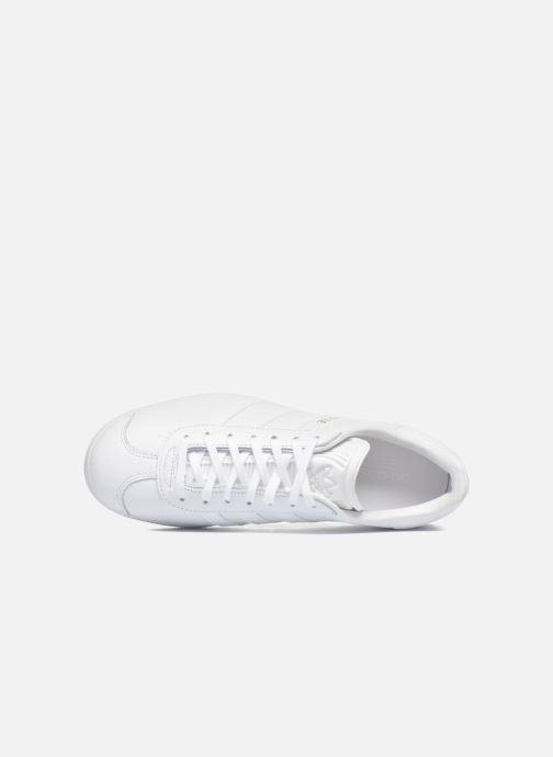 Sneaker adidas originals Gazelle W weiß ansicht von links
