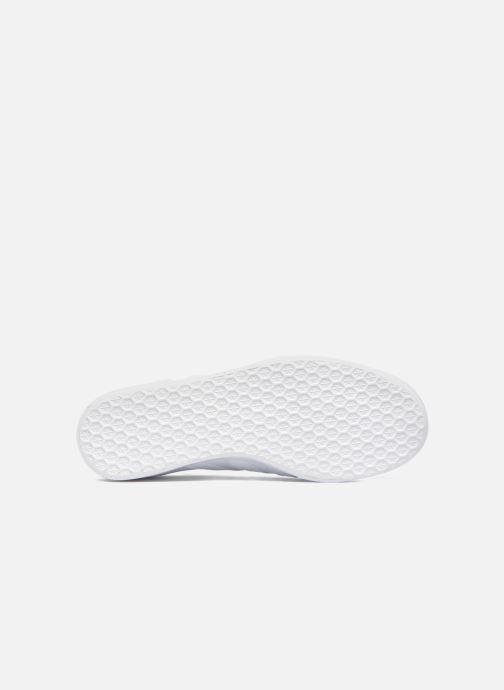 Sneaker adidas originals Gazelle W weiß ansicht von oben