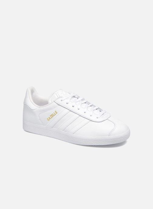Sneaker adidas originals Gazelle W weiß detaillierte ansicht/modell