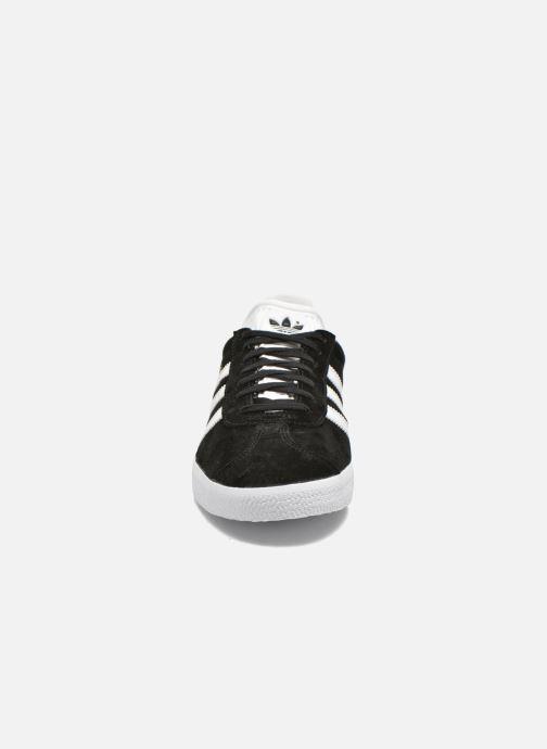 Baskets adidas originals Gazelle W Noir vue portées chaussures