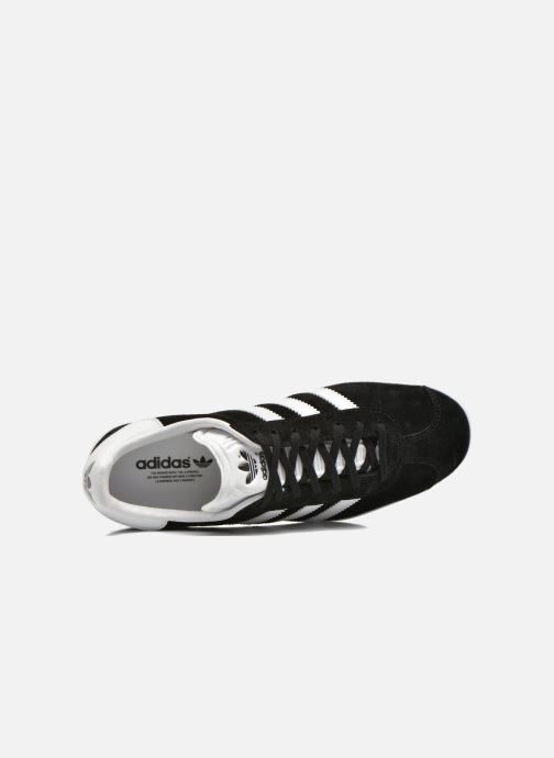 Baskets adidas originals Gazelle W Noir vue gauche