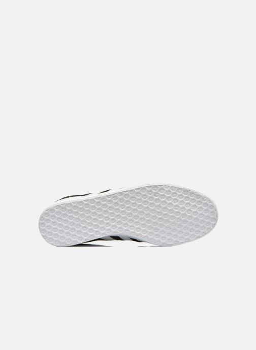 Baskets adidas originals Gazelle W Noir vue haut