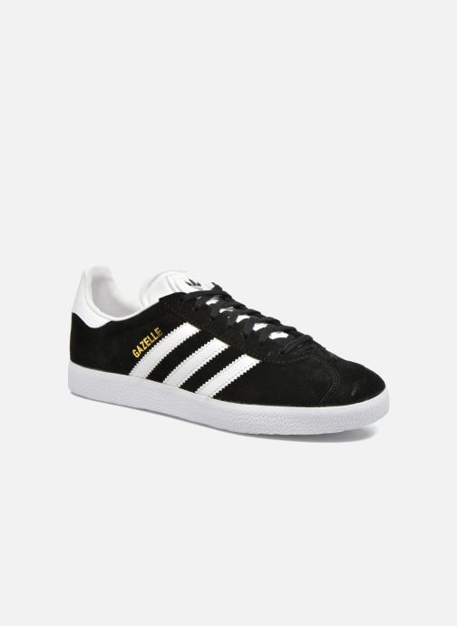 Baskets adidas originals Gazelle W Noir vue détail/paire