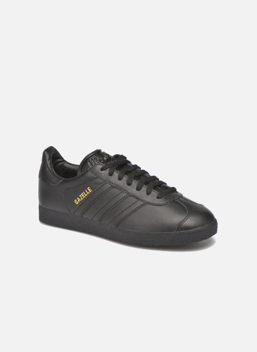 Baskets adidas originals Gazelle W Noir vue détail/paire