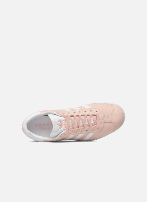 Sneaker adidas originals Gazelle W rosa ansicht von links