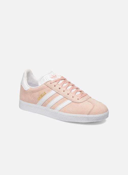 Sneakers adidas originals Gazelle W Pink detaljeret billede af skoene