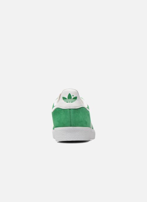 Baskets adidas originals Gazelle W Vert vue droite