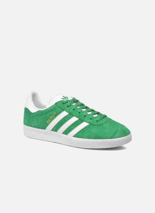 Baskets adidas originals Gazelle W Vert vue détail/paire