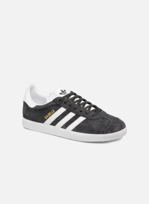 Trainers Adidas Originals Gazelle W Grey detailed view/ Pair view