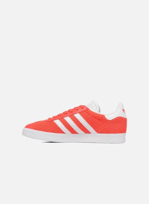 Sneakers adidas originals Gazelle W Oranje voorkant