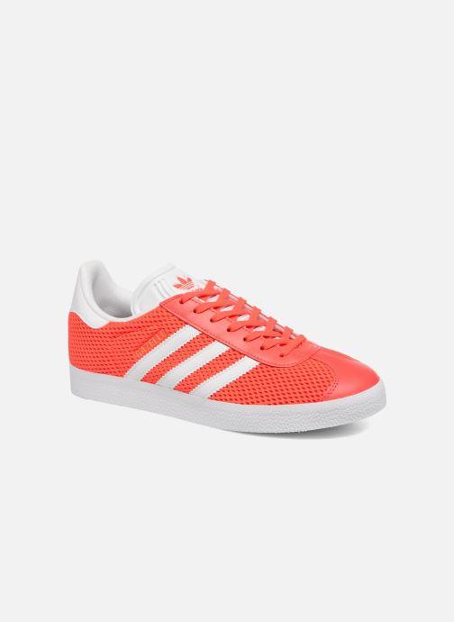 Trainers Adidas Originals Gazelle W Orange detailed view/ Pair view