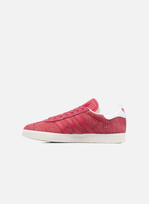 Baskets adidas originals Gazelle W Rouge vue face