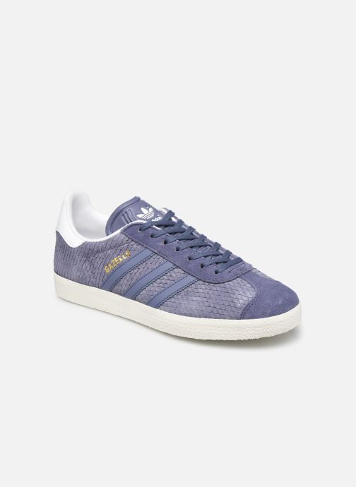 Baskets adidas originals Gazelle W Violet vue détail/paire