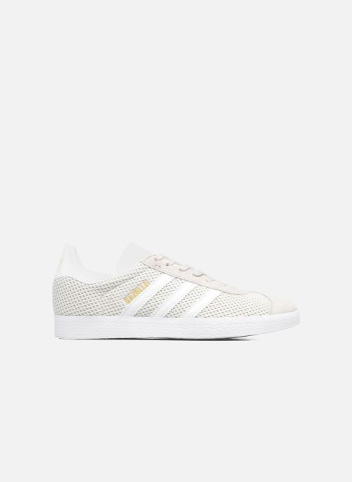Baskets adidas originals Gazelle W Gris vue derrière